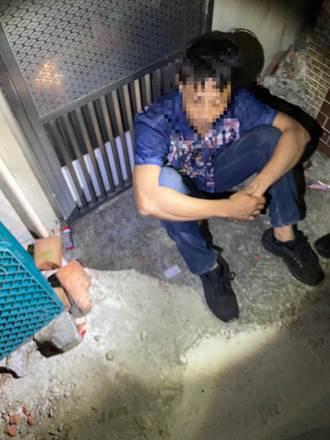 男不務正業靠行竊維生 警方19日將他逮捕到案