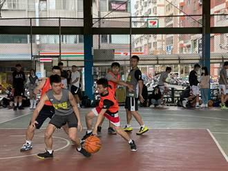 潭雅神反毒盃籃球賽開打 周永鴻勉勵選手揮灑青春