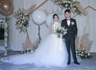 貝童彤喜辦婚宴席開31桌 帥氣老公首露面甜曝她是高中女神