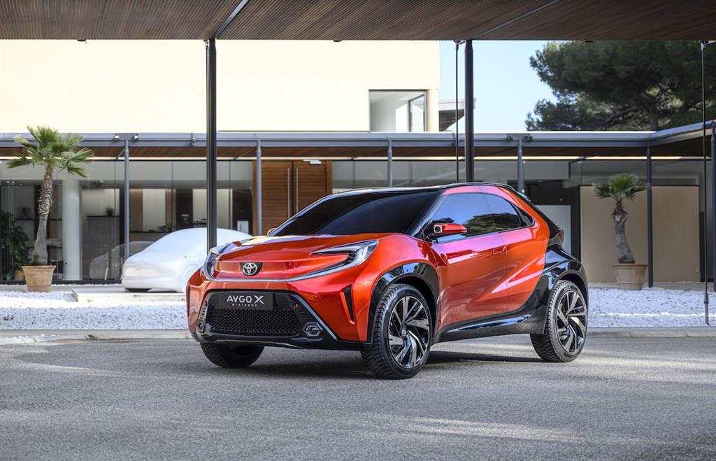 純粹歐洲血統,TOYOTA Aygo X Prologue 概念車預覽都會微型 Crossover 雛形