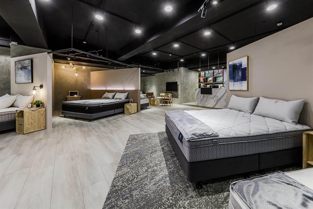 歐德集團推出新品「歐眠床墊OMAT」,標榜輕輕鬆鬆睡好覺做好夢。(歐德提供)