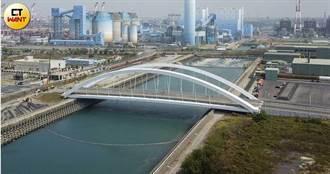 跨海橋偷工1/南星計畫聯外橋驚揭「防鏽隨便做」 才完工月餘油漆剝落長鏽斑