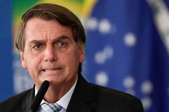 巴西總統過生日沒閒著 再次抨擊封城防疫措施