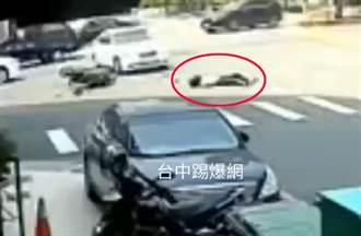 19歲兒遭左轉賓士撞亡 警口誤「直行車應禮讓」 父下跪求公道