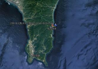 空軍證實: 2架F5E戰機空中擦撞墜海 飛行員跳傘搜救中