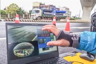 竹縣聲音照相執法22日上路 改裝車最高罰3萬