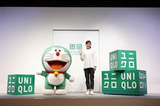 「哆啦A夢」藍變綠 擔任UNIQLO全球永續發展大使