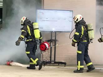 平板編組控管氣瓶 盼成火場救援利器