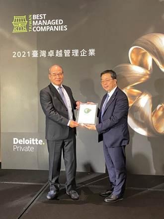 益張榮獲勤業眾信第一屆「卓越管理企業」獎項