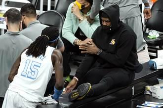 NBA》詹皇復出時間表出爐 ESPN預估3周到1個月
