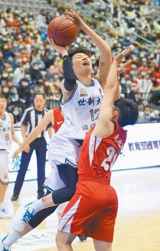 MVP林蝶滿場飛 世新女力2連霸