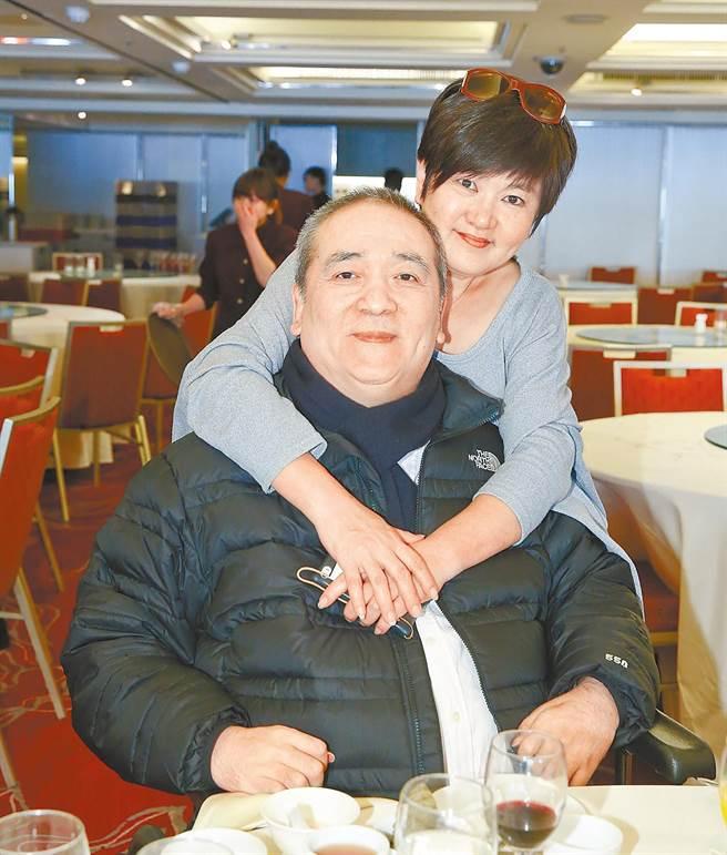 趙學煌和蔡秋蓉夫妻倆一路走來始終恩愛。(中時資料照)