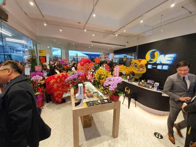 O-ONE品牌圓一國際全台首家實體店,線上電商+線下通路,品牌虛實整合新典範。(業者提供/蔡依珍桃園傳真)