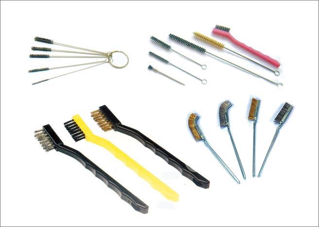 義發加工廠提供各式工業用刷。圖/周榮發