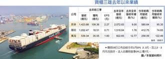 貨櫃三雄海賺 護國艦隊成形