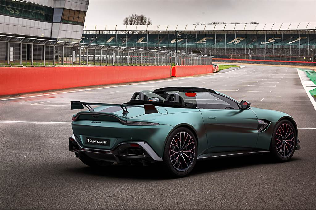 慶祝強勢重返F1賽場!Aston Martin發表Vantage F1 Edition