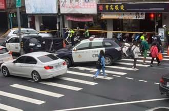 北市信義區8旬婦過馬路遭公車輾斃 肇逃司機遭帶回