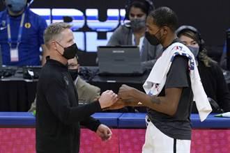 NBA》寧願輸球也不要KD?勇士科爾這麼說