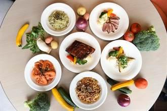 點主餐送沙拉吧 新板希爾頓「悅市集」改平價半自助餐搶市