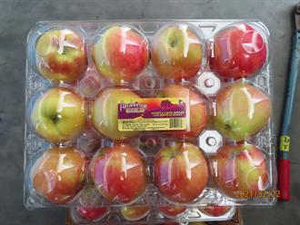好市多進口珍蜜蘋果驗出禁用農藥 800箱全數銷毀