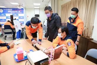 加強緊急救護品質 消防人員精進靜脈注射能力
