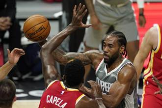 NBA》落後22分 里歐納德率領快艇逆轉終結老鷹8連勝