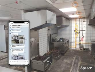 2021智慧城市展》宇瞻推自動防災阻斷 讓美食街更安全