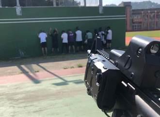 網傳「處決」面壁高中生 竟是反恐模擬課程