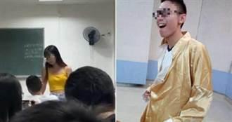男友劈腿學妹 陸女大生衝教室狠賞巴掌嗆:3秒男
