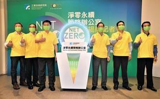 工研院宣示 2050全院净零碳排放