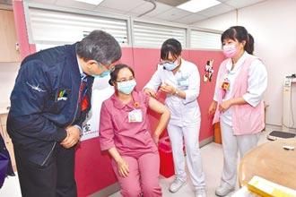 AZ疫苗接种 北市4成医护愿打