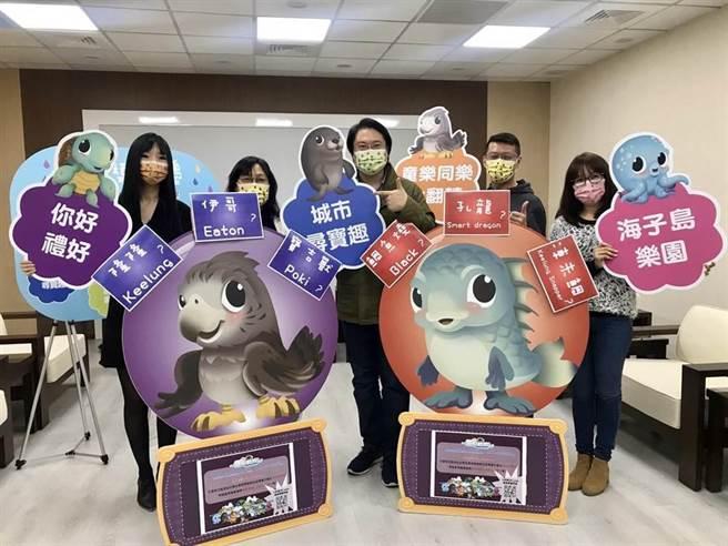 基隆市因應疫情,今年童話藝術節轉型為「童樂海子島」,市府規畫一系列活動,並準備6大好禮。(陳彩玲攝)