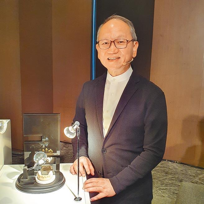 法藍瓷創辦人陳立恆將陶瓷3D列印應用範圍,從飾品、藝品擴大到牙科、ICT等產業。圖/邱莉玲