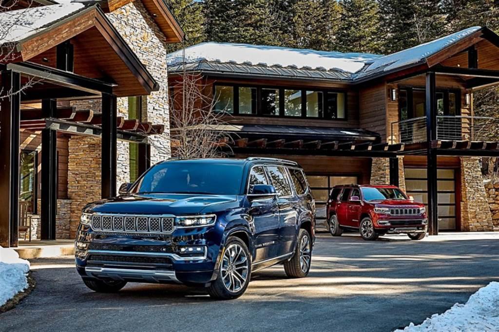 去除廠徽以彰顯獨特地位 Jeep發表全地形豪華旗艦Wagoneer / Grand Wagoneer