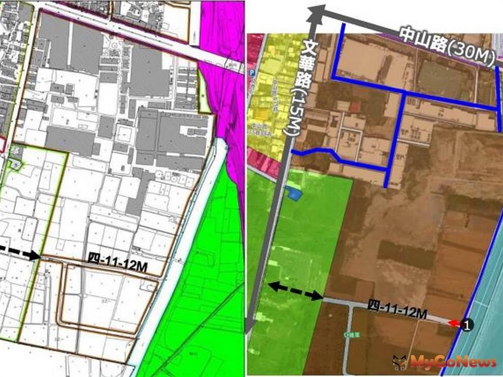 台南市仁德都市計畫第三次通盤檢討第一階段發布實施(圖/台南市政府)