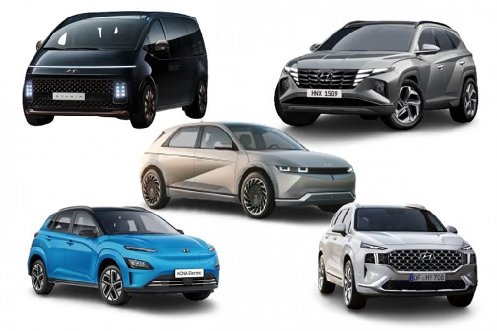 Hyundai 公布 2021 新車計畫,小改款 KONA、小改款 Santa Fe、大改款 Tucson 與 Staria 陸續到來