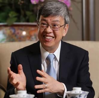 陈建仁比媒专访 台湾盼6月前展开大规模接种疫苗