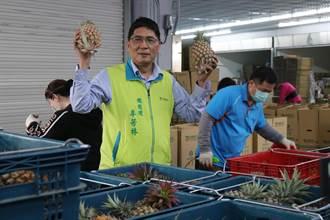 網友稱黃偉哲賣高價鳳梨 南市農產運銷公司:惡意扭曲