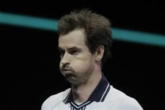 半夜醒來胯下痛!莫瑞退出邁阿密網賽