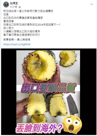 盧虹快評》農委會別讓鳳梨變高麗菜