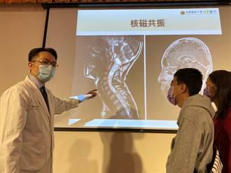 脊髓腫瘤纏身 14歲弟弟拚了接受開頸手術