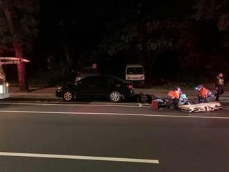 桃园骑士自摔撞车不治 血液酒精浓度达1.259毫克