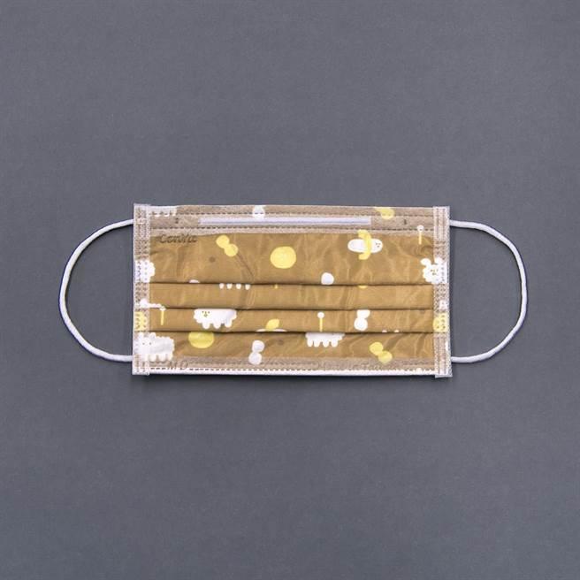 Pinkoi x 右手超人限定款,狗狗雲,一盒30入,399元。(Pinkoi提供)
