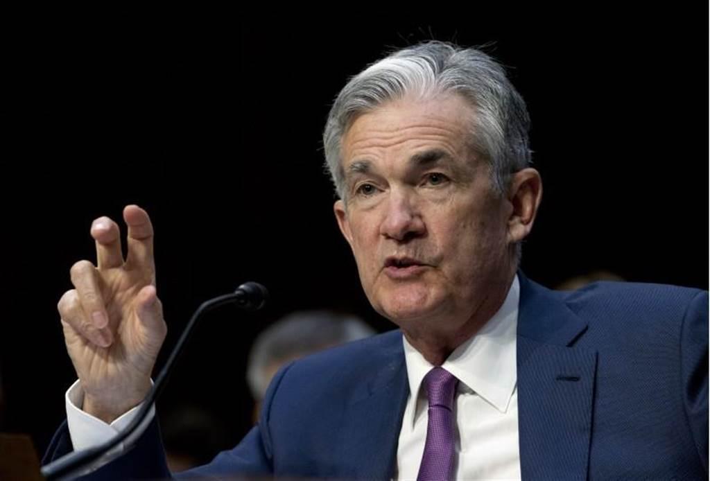 美國聯準會(Fed)主席鮑爾(Jerome Powell)。(圖/美聯社)