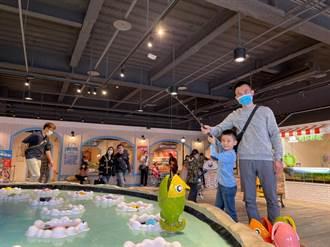 巨無霸釣魚機破7萬人體驗 4月親子2人同行免費玩