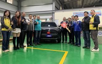 國瑞汽車大方贈外銷車款 提供汽修科孩子學習機會