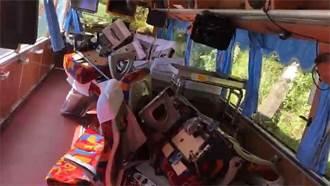 蘇花公路6死 運安會爆驚人發現:靠窗座椅少2顆螺絲