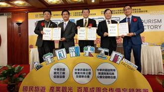 中華民國觀光工廠促進協會等三單位 25日共同簽署合作備忘錄