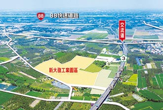 新大發工業園區2.3萬坪分割出售