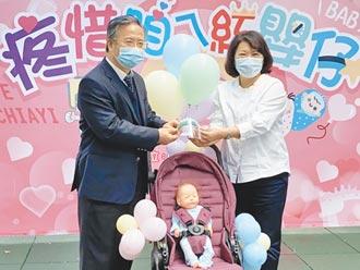 保護新生兒 嘉基贈千個防護面罩